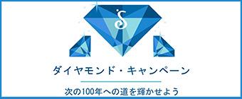 ダイヤモンド・キャンペーン 次の100年への道を輝かせよう